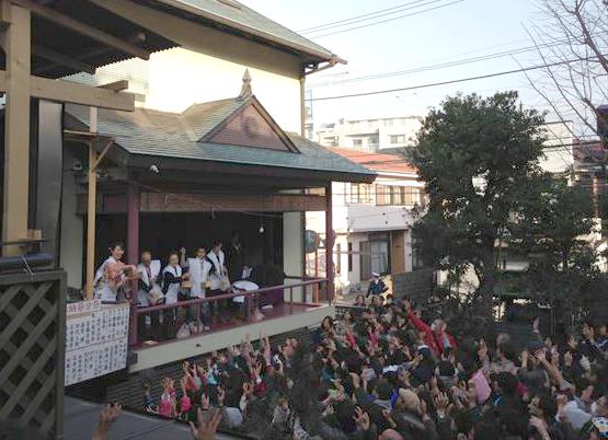 節分祭(菊名神社)
